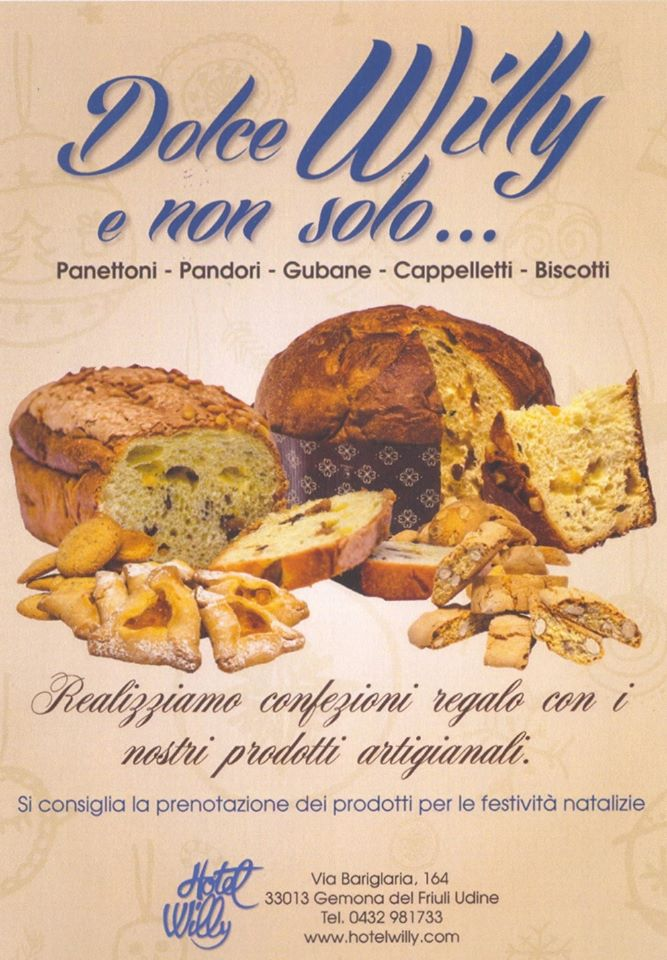 pasticceria willy gemona fvg